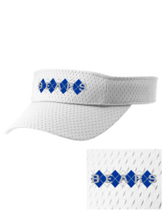 Hoover Elementary School Bears Embroidered Woven Cotton Visor