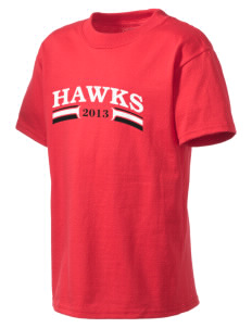 Stacy Middle School Hawks Kid's Lightweight T-Shirt