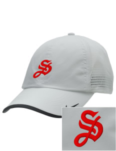 Stacy Middle School Hawks Embroidered Nike Dri-FIT Swoosh Perforated Cap