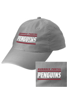 Murdock Portal Elementary School Penguins Embroidered Vintage Adjustable Cap