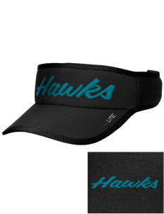 Heights Christian Junior High School Hawks Embroidered Lite Series Active Visor