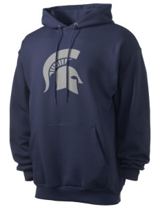 Skyline High School Spartans Men's 7.8 oz Lightweight Hooded Sweatshirt