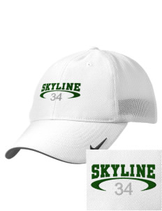 Skyline High School Spartans Embroidered Nike Golf Mesh Back Cap