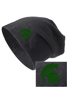 Skyline High School Spartans Embroidered Slouch Beanie
