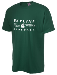 Skyline High School Spartans  Russell Men's NuBlend T-Shirt