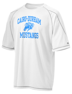 Cairo-Durham Middle School Mustangs Champion Men's 4.1 oz Double Dry Odor Resistance T-Shirt