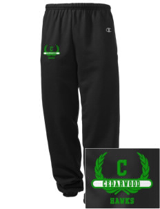Cedarwood Elementary School Hawks Embroidered Champion Men's Sweatpants