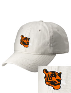 Illini Bluffs Elementary School Tigers  Embroidered New Era Adjustable Unstructured Cap