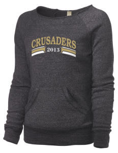 Bishop Heelan Catholic High School Crusaders Alternative Women's Maniac Sweatshirt