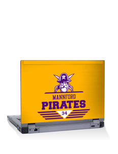 "Mannford Elementary School Pirates 14"" Laptop Skin"