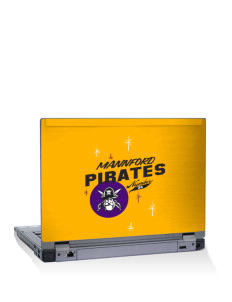 "Mannford Elementary School Pirates 15"" Laptop Skin"