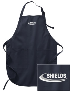 Midway Christian School Shields Embroidered Full-Length Apron with Pockets