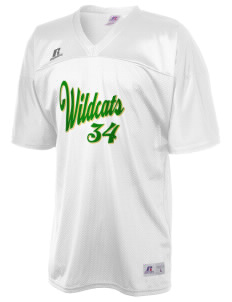Whittier Elementary School Wildcats  Russell Men's Replica Football Jersey