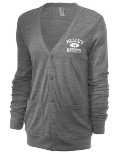 Valley Elementary School Knights Unisex 5.6 oz Triblend Cardigan