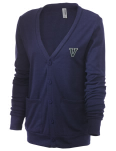Valley Elementary School Knights Unisex 5.6 oz Triblend Cardigan with Distressed Applique