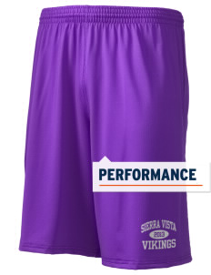 "Sierra Vista Middle School Vikings Holloway Men's Performance Shorts, 9"" Inseam"