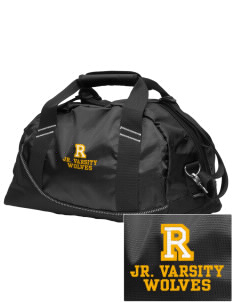 Reed Middle School Wolves Embroidered OGIO Half Dome Duffel
