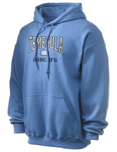 Temecula Middle School Bobcats Ultra Blend 50/50 Hooded Sweatshirt