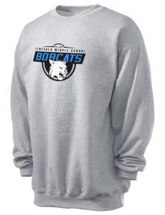 Temecula Middle School Bobcats Men's 7.8 oz Lightweight Crewneck Sweatshirt