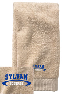 Sylvan Middle School Squires  Embroidered Zero Twist Resort Hand Towel