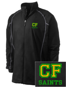 Clyde Fischer Middle School Saints Embroidered Men's Nike Golf Full Zip Wind Jacket