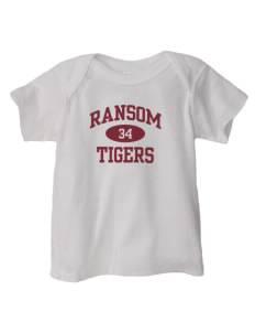 Ransom Middle School Tigers  Baby Lap Shoulder T-Shirt