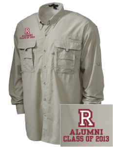 Ransom Middle School Tigers Embroidered Men's Explorer Shirt with Pockets