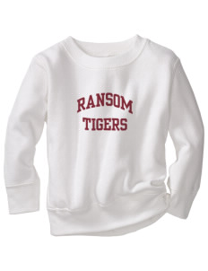 Ransom Middle School Tigers Toddler Crewneck Sweatshirt