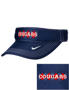 Bayside School Cougars Embroidered Nike Golf Dri-Fit Swoosh Visor
