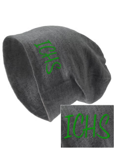 Independence Charter High Eagles Embroidered Slouch Beanie