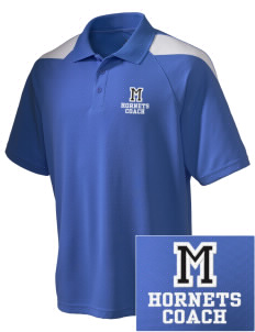 McCants Middle School Hornets Embroidered Holloway Men's Frequency Performance Pique Polo