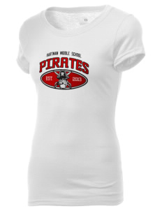 Hartman Middle School Pirates Holloway Women's Groove T-Shirt