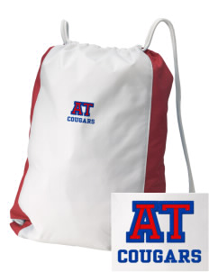 Albert Thomas Middle School Cougars Embroidered Holloway Home and Away Cinch Bag