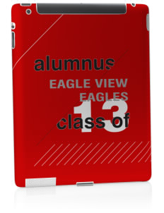 Eagle View Elementary School Eagles Apple iPad 2 Skin