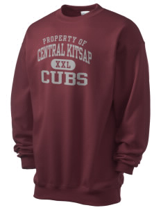 Central Kitsap Junior High School Cubs Men's 7.8 oz Lightweight Crewneck Sweatshirt