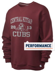 Central Kitsap Junior High School Cubs  Russell Men's Dri-Power Crewneck Sweatshirt