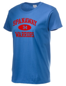 Spanaway Junior High School Warriors Women's 6.1 oz Ultra Cotton T-Shirt