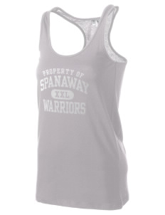 Spanaway Junior High School Warriors Women's Racerback Tank