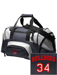 Brier Terrace Middle School Bulldogs Embroidered Small Colorblock Duffel