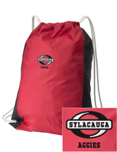 Sylacauga High School Aggies Embroidered Holloway Home and Away Cinch Bag