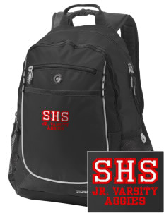 Sylacauga High School Aggies Embroidered OGIO Carbon Backpack