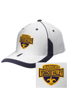 Ygnacio Valley High School Warriors Embroidered M2 Universal Fitted Contrast Cap