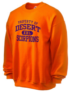 Desert High School Scorpions Ultra Blend 50/50 Crewneck Sweatshirt