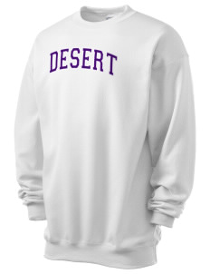 Desert High School Scorpions Men's 7.8 oz Lightweight Crewneck Sweatshirt