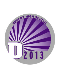 Desert High School Scorpions Sticker