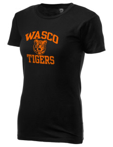 Wasco High School Tigers Alternative Women's Basic Crew T-Shirt