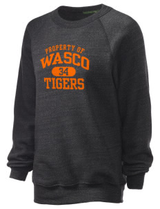 Wasco High School Tigers Unisex Alternative Eco-Fleece Raglan Sweatshirt