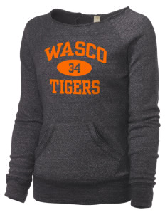 Wasco High School Tigers Alternative Women's Maniac Sweatshirt