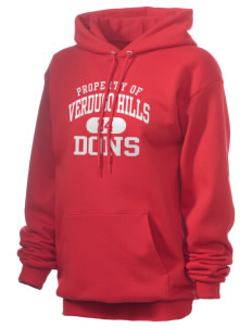 Verdugo Hills High School Dons Unisex 7.8 oz Lightweight Hooded Sweatshirt