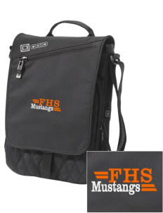 Foothill High School Mustangs Embroidered OGIO Module Sleeve for Tablets
